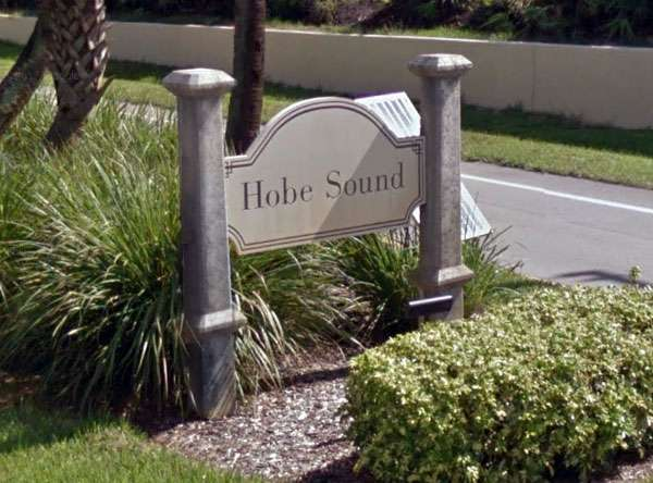 Welcome to Hobe Sound, Florida