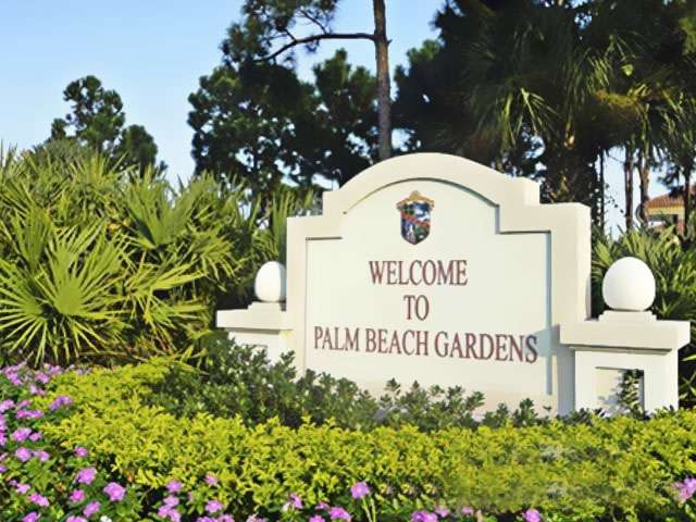 Welcome to Palm Beach Gardens Florida