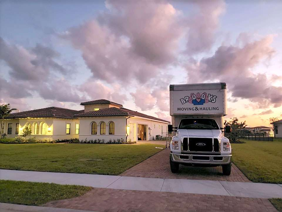 West Palm Beach Moving Truck